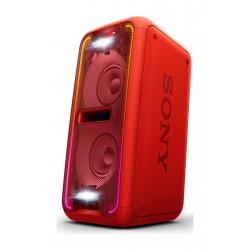 Sistema de audio Sony GTKXB7R Rojo